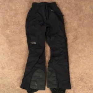 North Face women's ski snow pants. Size small.